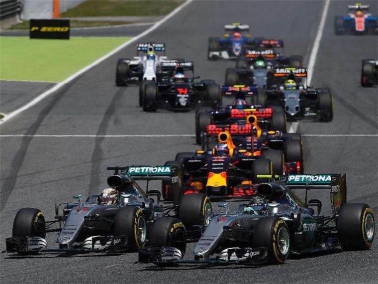 摩納哥F1方程式賽車