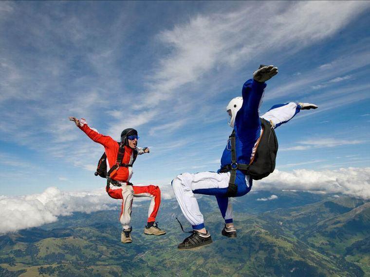 極限跳傘體驗